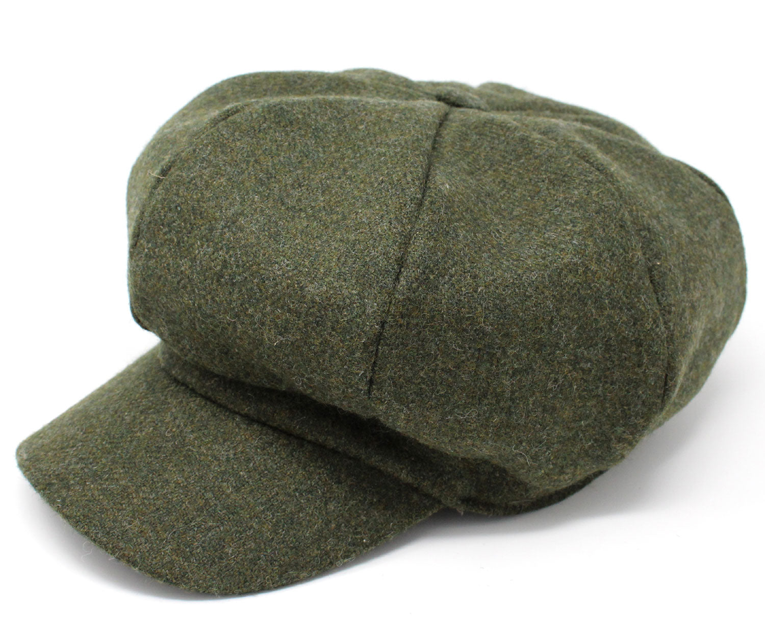 Hanna Tweed Glenveagh Cap | Woodland Green