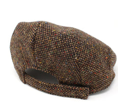 Handmade Children's Tweed Flat Cap by Hanna Hats of Donegal