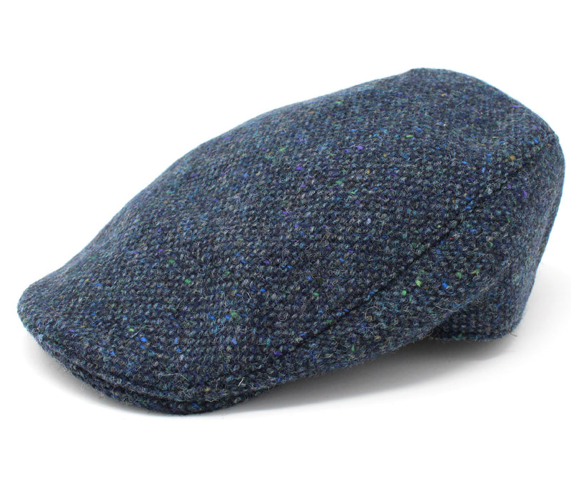 Hanna Donegal Touring Tweed Cap | Navy Salt and Pepper