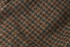 harris tweed Green Houndstooth