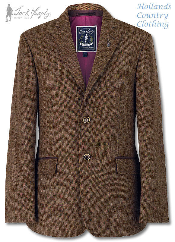 Jack Murphy Harry Glendalough Tweed Jacket