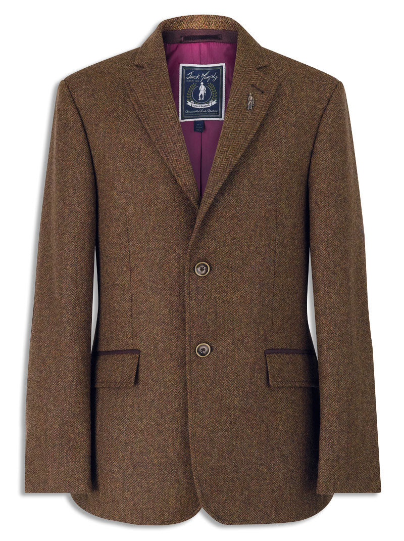 Jack Murphy Harry Sports Jacket in GLENDALOUGH tweed. A smart British tweed