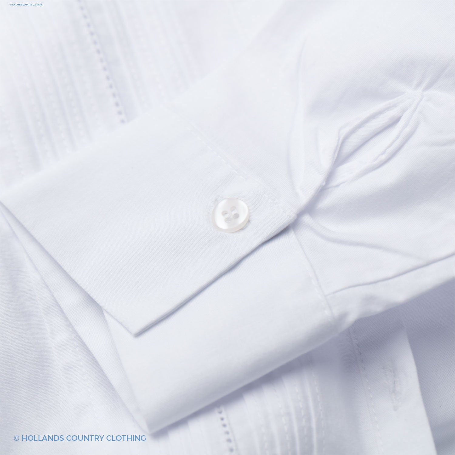 cuff detail white Mona shirt