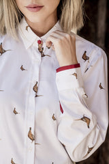 Hartwell ladies pheasant design shirts