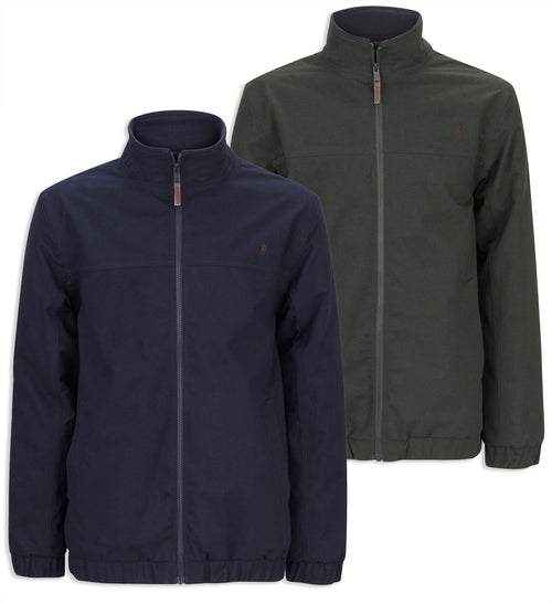 Jack Murphy Harvey Waterproof Jacket in navy and olive