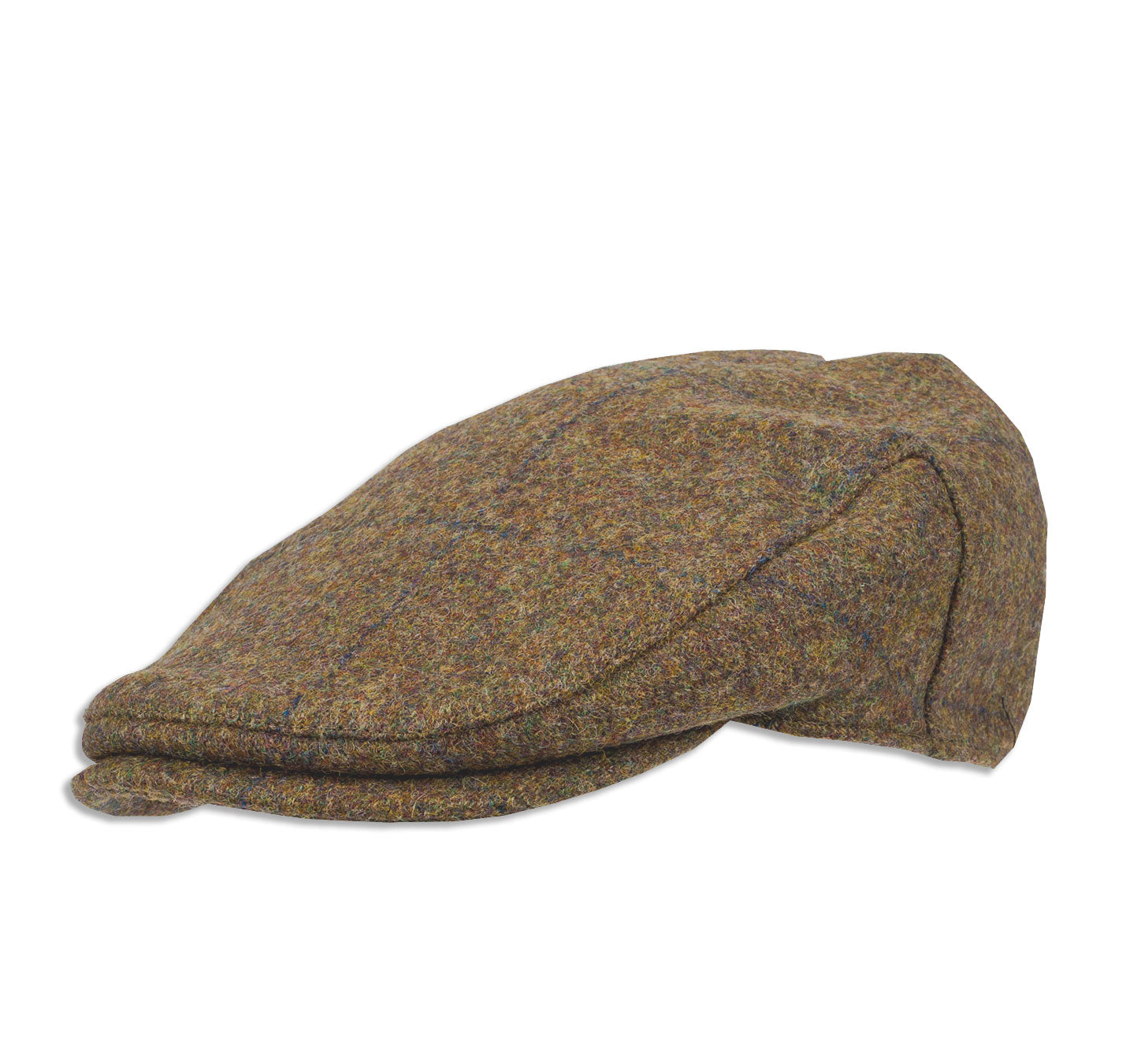 Manufactured by Heather Hats using finest Wool tweed sourced from Mallalieus of Delph - fine tweed producers.