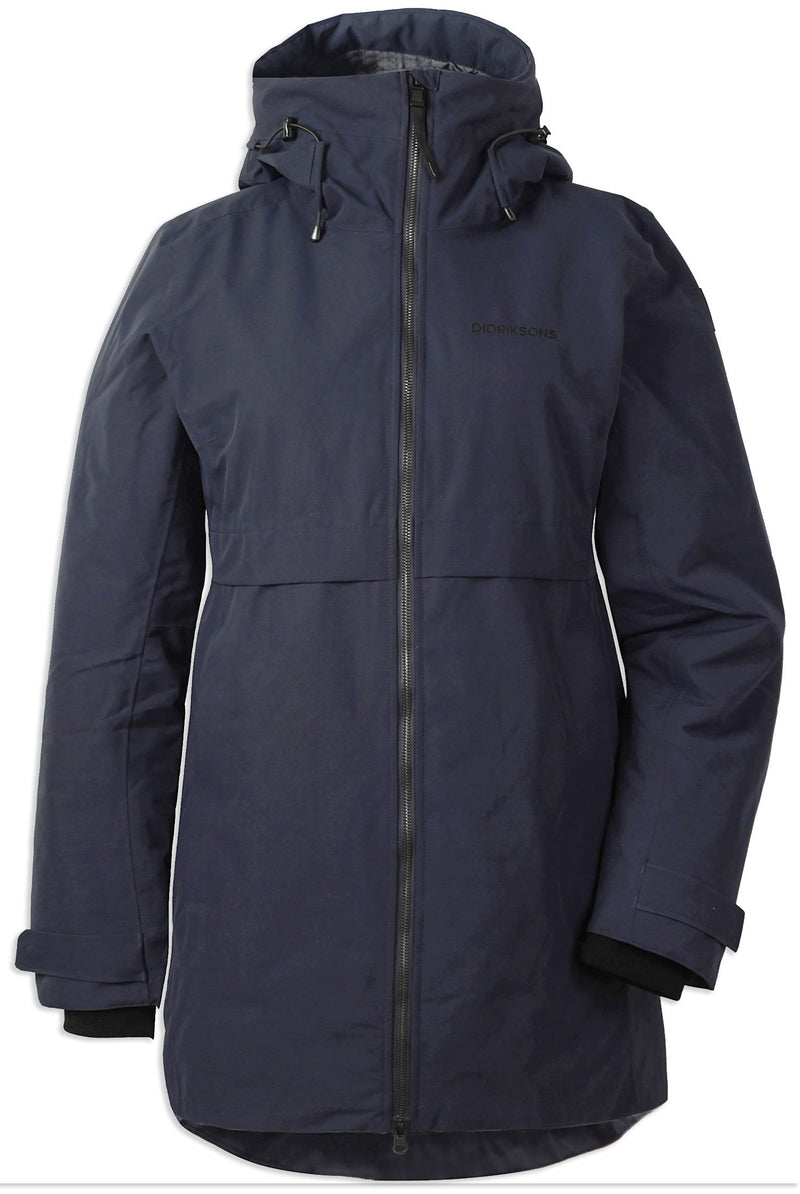 Dark Night Blue Didriksons Helle II Waterproof Parka