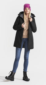 Woman's Black Didriksons Parka coat