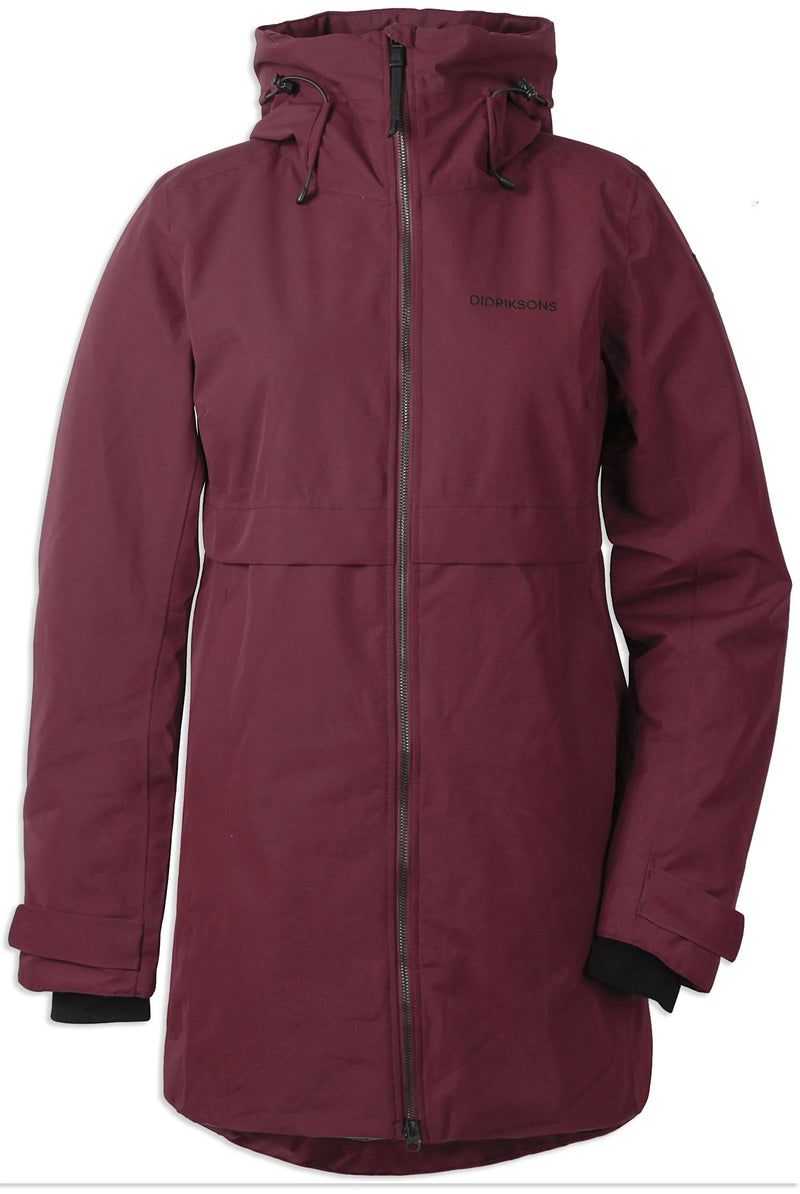 Anemon Red Didriksons Helle II Waterproof Parka