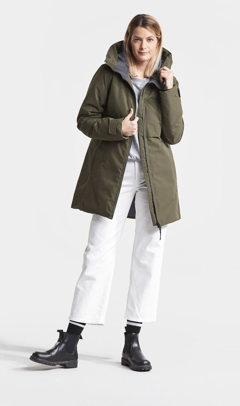 Super warm Didriksons Helle II Ladies Waterproof Winter Parka Coat