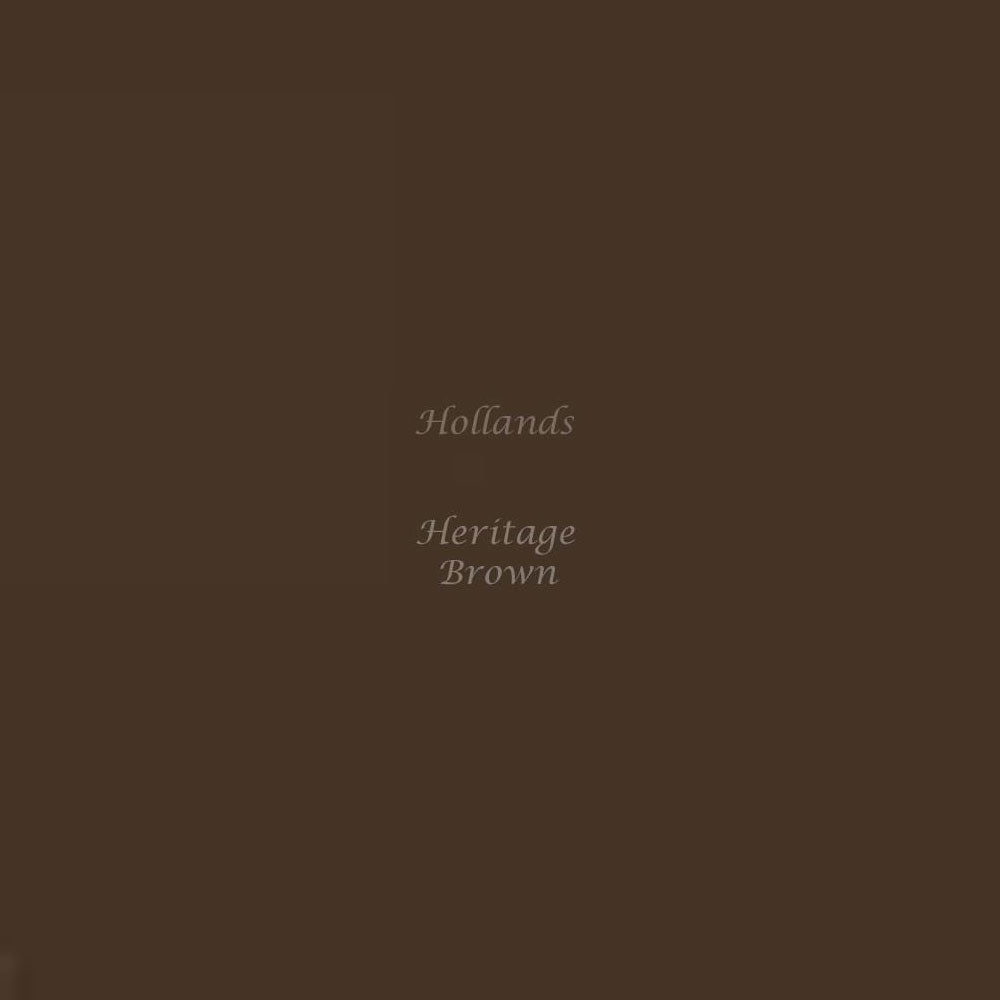 heritage brown colour swatch