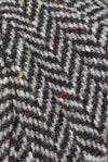 Tweed swatch Colour; Grey Jumbo Salt and Pepper Herringbone