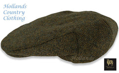 Chapman shetland wool tweed flat cap from heather hats