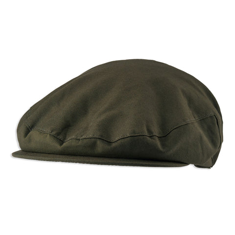 Classic flat cap with modern waterproofing features