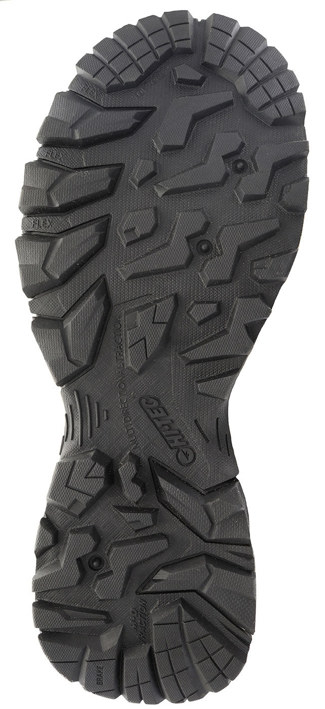 gripping sole view Bandera Men's Waterproof Hiking Boots by Hi-Tec