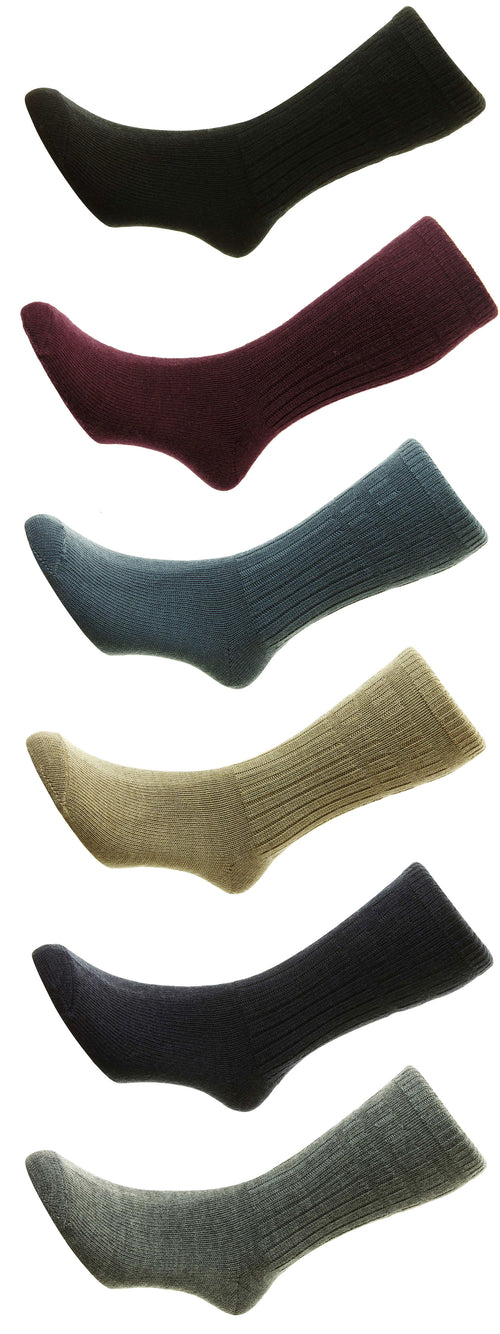 HJ Hall Thermal SoftTop Socks | Wool Rich - Hollands Country Clothing