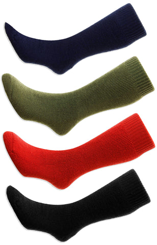 HJ Hall Rambler Cushioned Wool Sock, Red, black Olive Navy
