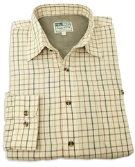 Hoggs Fleece lined winter shirt with tattersall check