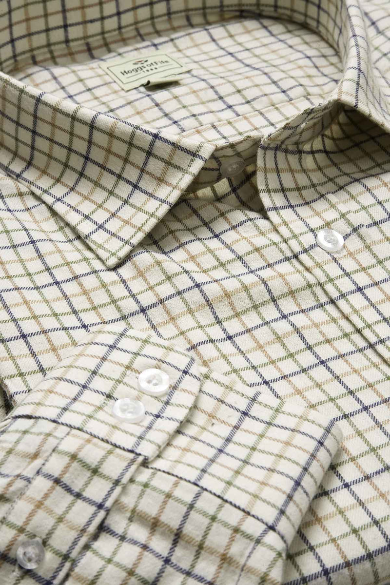 Hoggs 100% Pure Cotton Tattersall Check Shirts