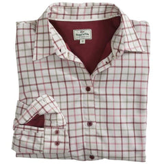 Hoggs Warm lined Lady's Alba Tattersall Check shirt is ideal for winter in and outdoor wear. AFFORDABLE QUALITY. Country Wear.