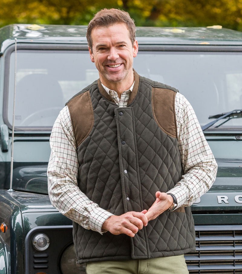 hoggs laird shirt with banchory waistcoat