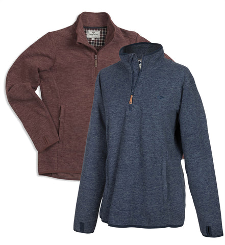 Hoggs of Fife Woburn Fleece Pullover