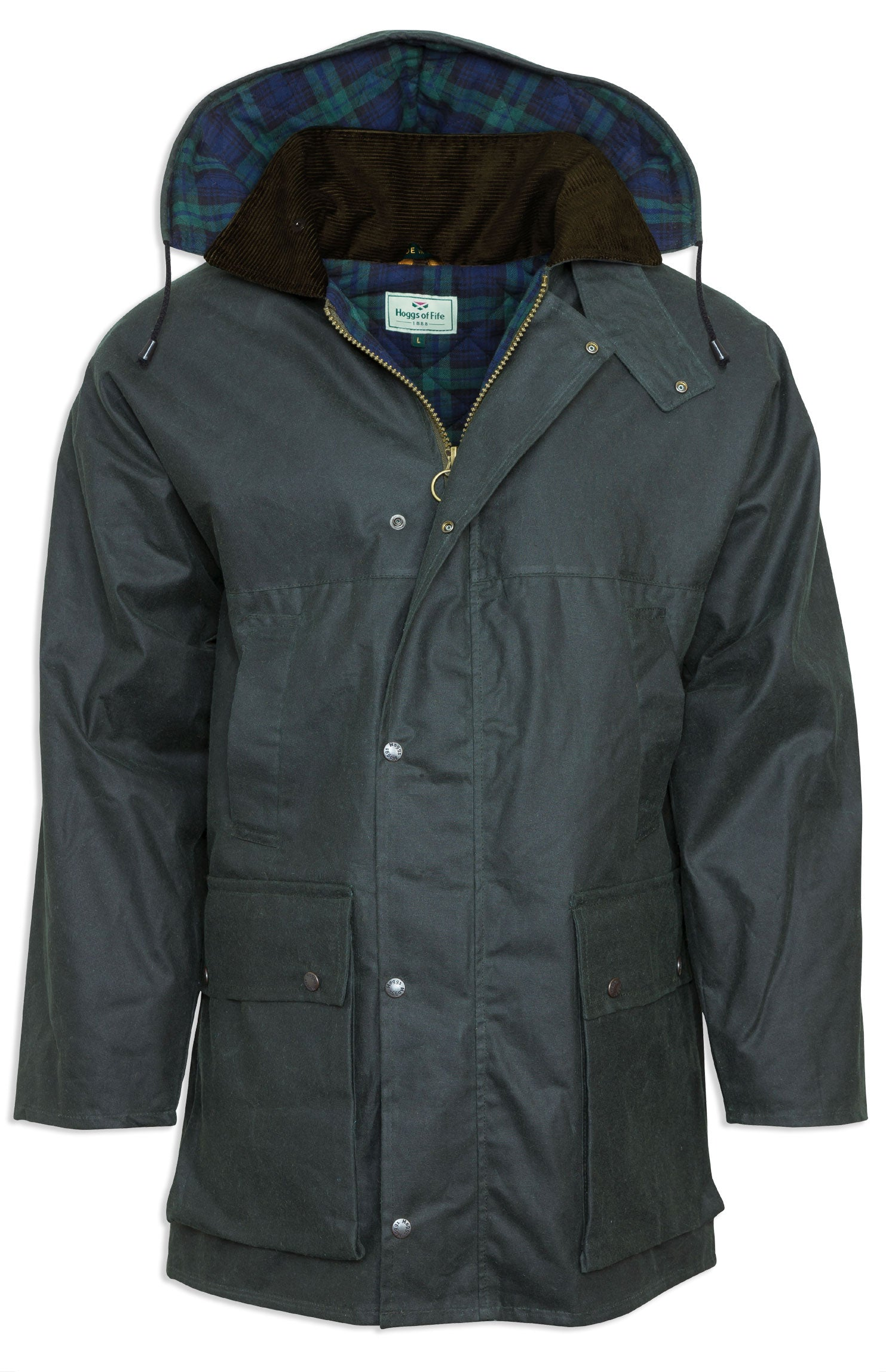 Hoggs Padded Waxed Jacket