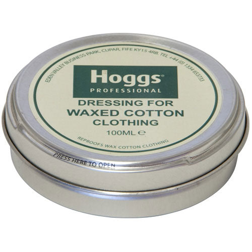 Hoggs of Fife Professional Waxed Cotton Dressing - Neutral 100 ml