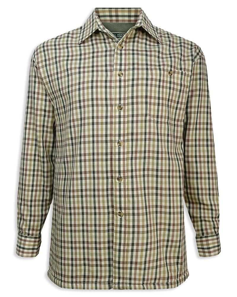 Hoggs of Fife Micro Fleece Lined Country Shirt L-XXL various sizes