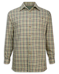 Hoggs Bracken Micro Fleece Lined Shirt | Check Shirt