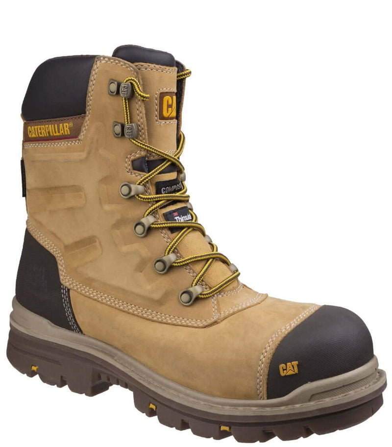 Honey Caterpillar Premier Waterproof S3 Safety Boot