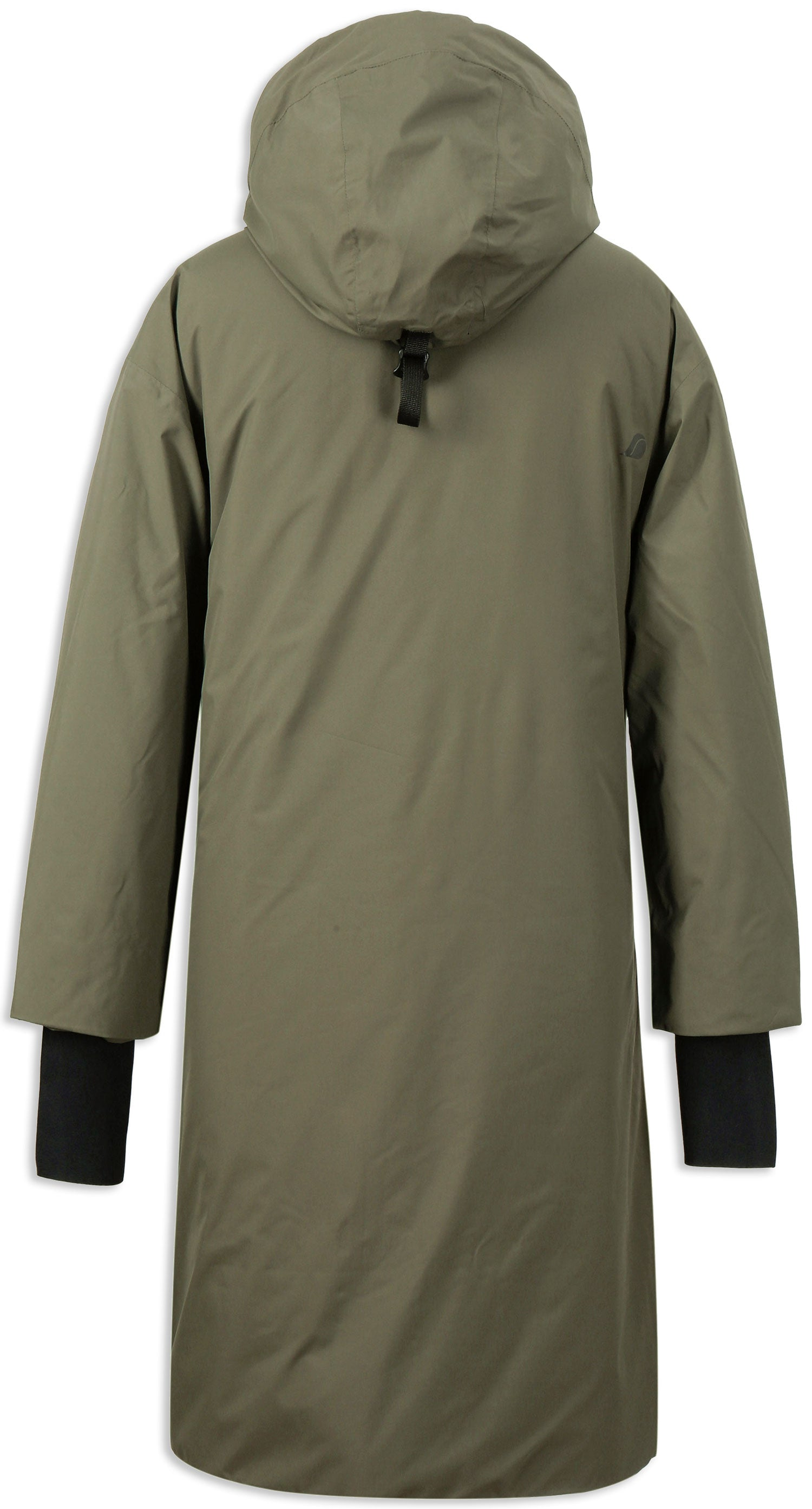 Back View Fog Green Didriksons Aino 2 Waterproof Parka