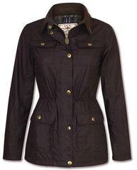 Anne Marie Waxed Cotton Jacket