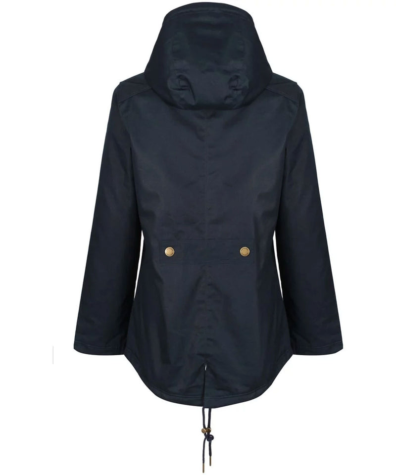 Jack Murphy Lesley Ladies Waterproof back view navy
