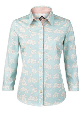 Jack Murphy Rosemary Shirt in Heavenly Butterfly