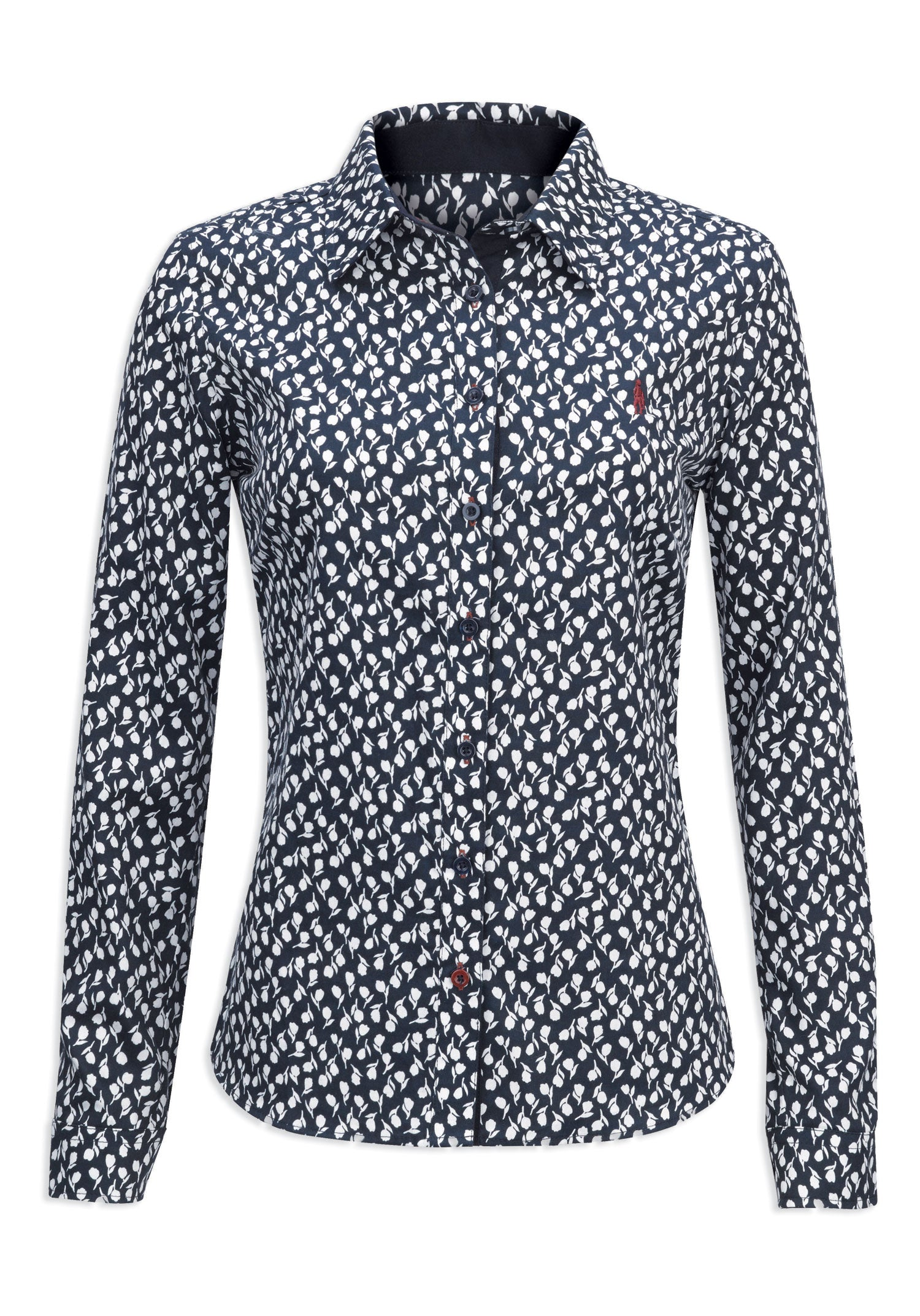 Jack Murphy Bianca Cotton Shirt | Winter Flower
