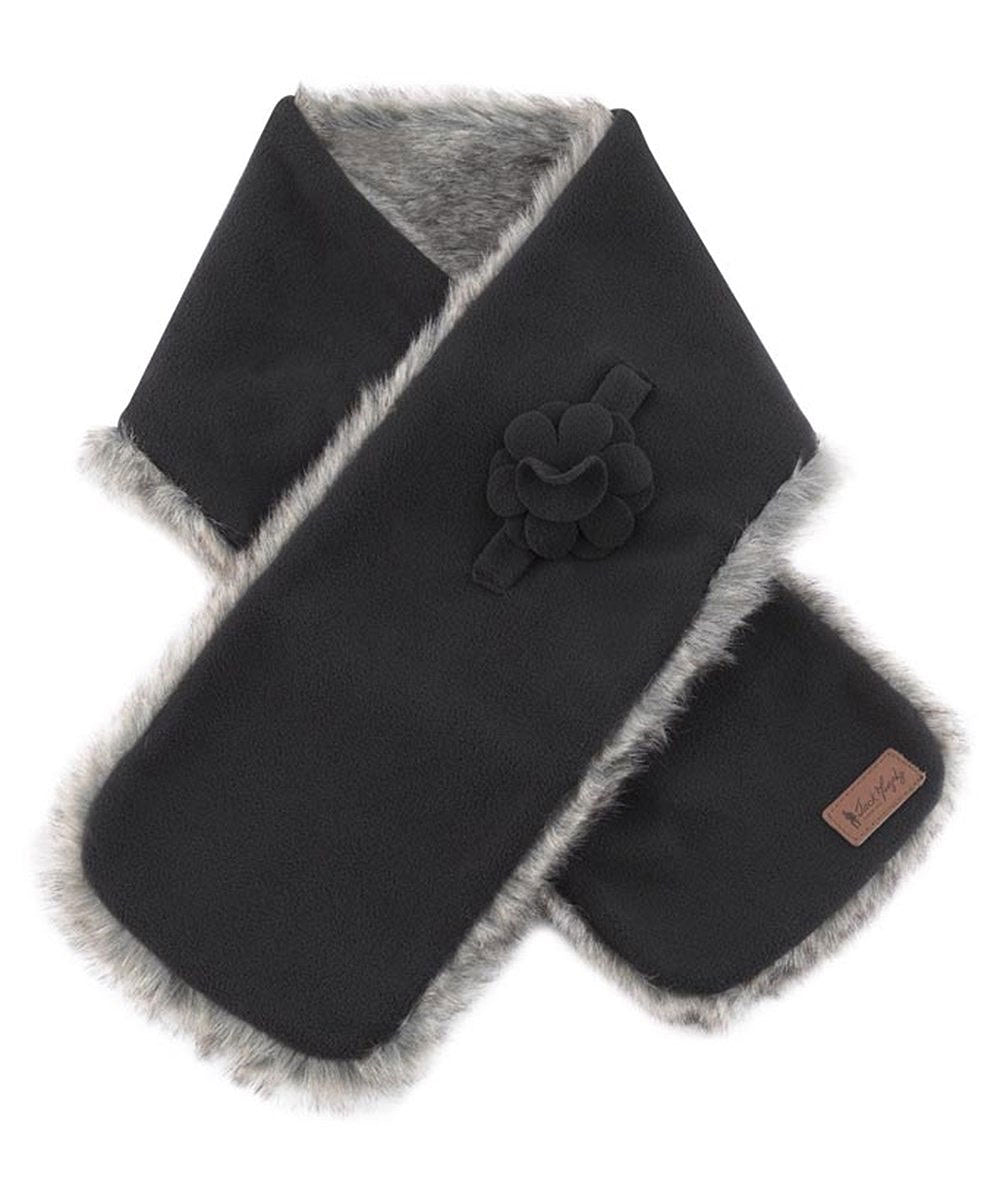jack murphy black fleece scarf gatsby