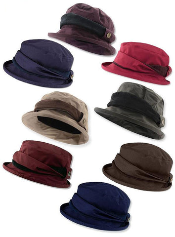 Jack Murphy Malvern Heritage Rain Hat. Eight Great Colours