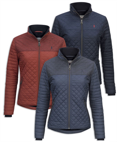 Jack Murphy Martha Ladies Quilted Jacket
