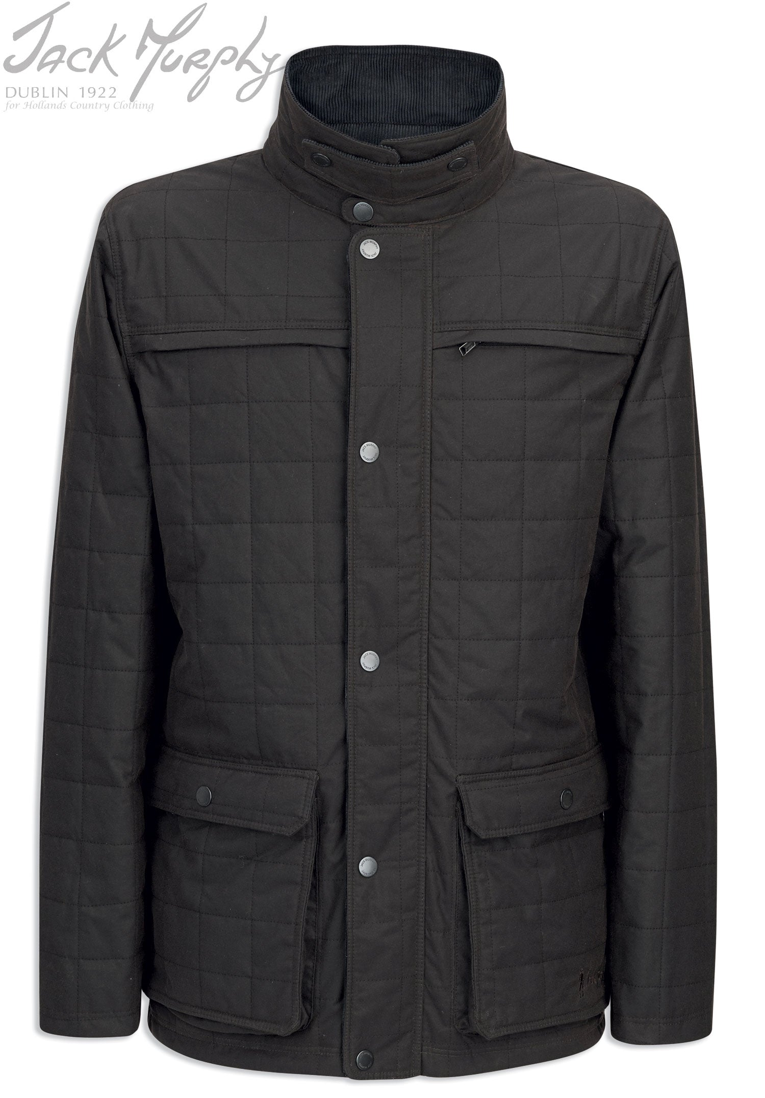 Jack Murphy Zack Waxed Jacket | Olive,  Rich Brown