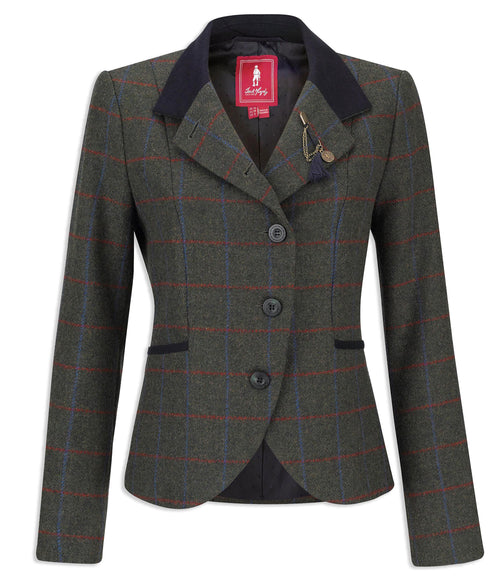 Jack Murphy Harriet Tweed | Green Check
