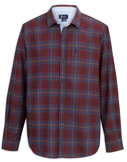 Jack Murphy Jeremy Cotton Shirt | Winter Check