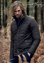 Jack Murphy William Waxed Cotton Jacket | Navy