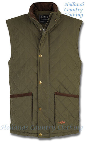 Jack Murphy James Men's Quilted Gilet Body Warmer