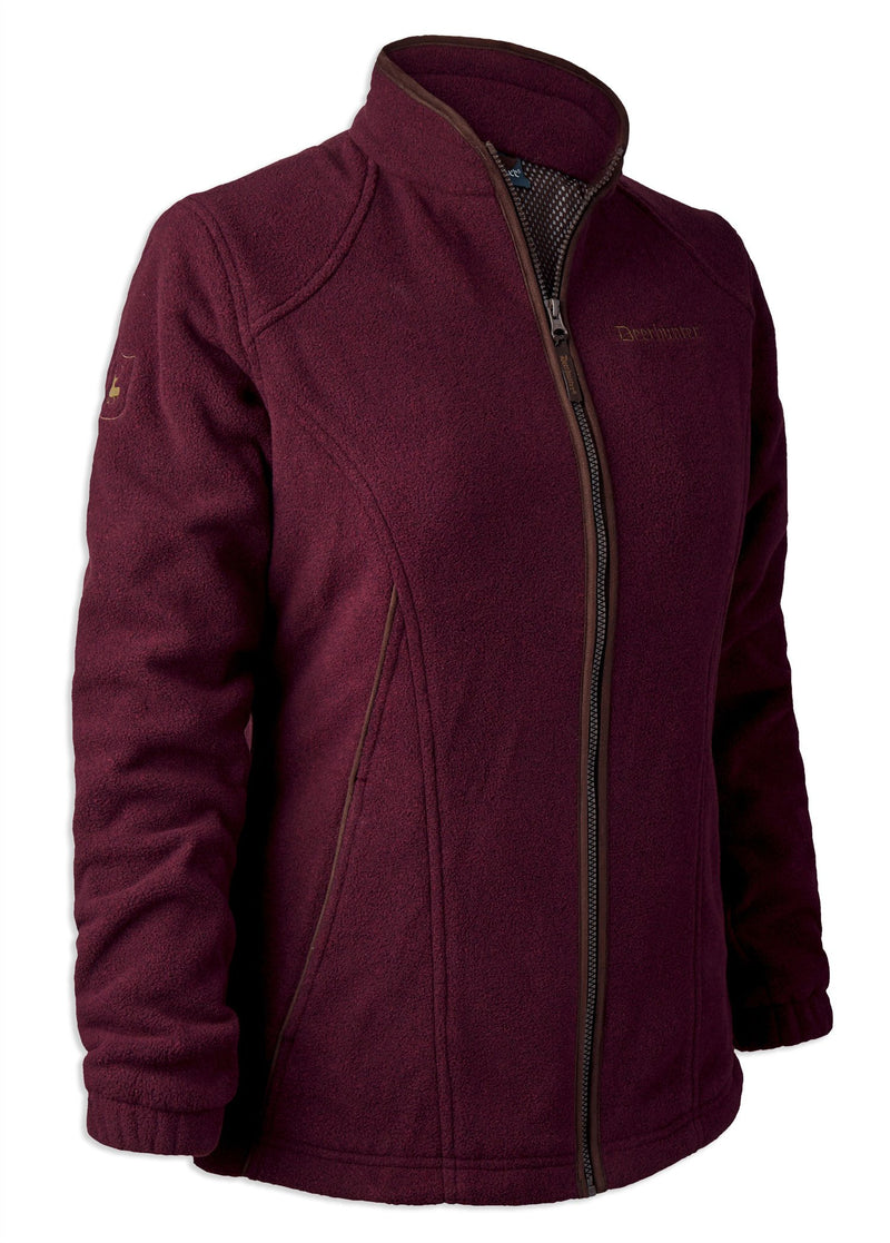 Burgundy Lady Josephine Fleece with Stormliner Waterproof Membrane by Deerhunter