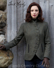 lady wearing Jack Murphy Karen Jacket in Knockmore Tweed
