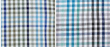 colour swatch for Champion Kelso Short Sleeved Shirt in blue checks