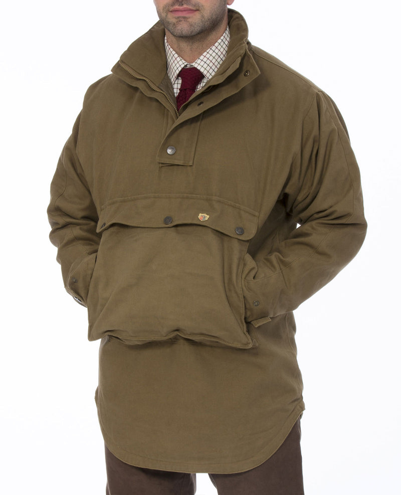 Alan Paine Kexby Waterproof Smock showing large front pocket