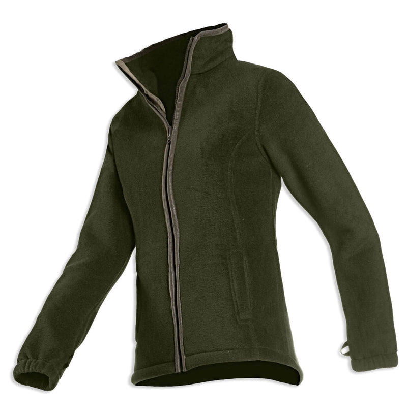 khaki green Sarah Ladies Fleece by Baleno