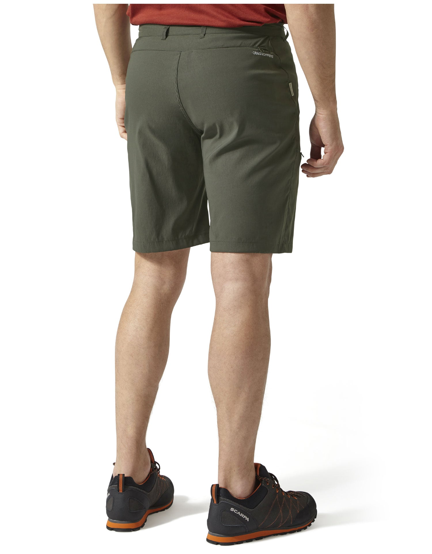 rear view Men's Kiwi Pro Shorts by Craghoppers